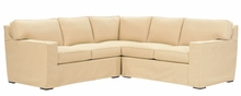 Alana Slipcovered Contemporary Track Arm Sectional