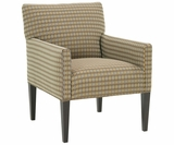Allison Office Style Fabric Accent Chair