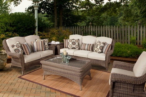 Amalfi Outdoor Patio Resin Wicker Furniture