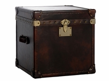 """Jasper """"Ready To Ship"""" Lift Top Side Table Storage Trunk"""
