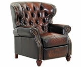 Arthur Traditional Tufted Chesterfield Recliner With Nailhead Trim