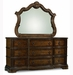 Stanbury 9 Drawer Dresser with Matching Arched Mirror