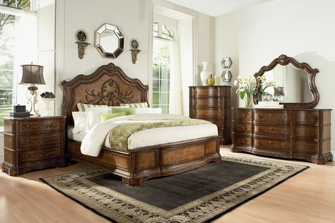 Stanbury Wood Bedroom Furniture Collection