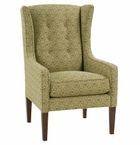 Belinda Victorian Wingback Accent Chair