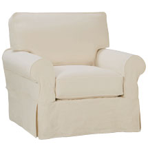 "Bethany ""Designer Style"" Slipcovered Chair"