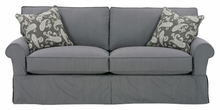 Bethany Two Seat Slipcovered Queen Sleeper Sofa
