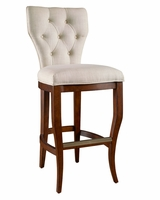 "Bowen ""Ready To Ship"" Tufted Back Bar & Counter Height Stool Collection"