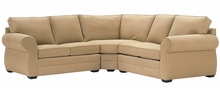 Brooke Transitional Fabric Modular Sectional Couch