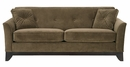 "Brookshire ""Designer Style"" Fabric Upholstered Sofa"