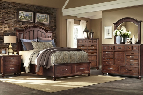 Bryson Wood Bedroom Collection
