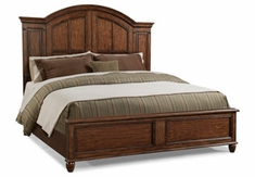 Bryson Wood Panel Bed
