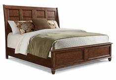 Bryson Wood Sleigh Bed