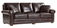 "Burgess ""Ready To Ship"" Grand Scale Leather Sofa"