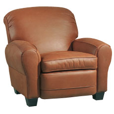 "Rogers ""Designer Style"" Leather Club Recliner Chair"