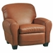 Rogers Designer Style Leather Club Recliner Chair