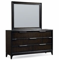 Cabot Dresser With Matching Mirror