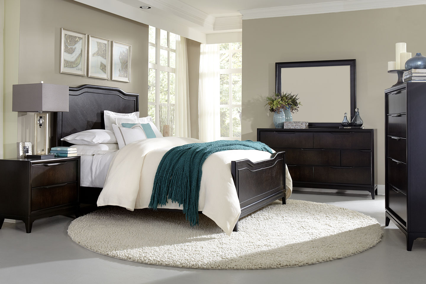 Cabot Wood Bedroom Furniture Collection Wood Bedroom