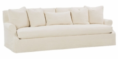 "Calista ""Designer Style"" Oversized 3 Lengths Select-A-Size Slipcovered Sofa"
