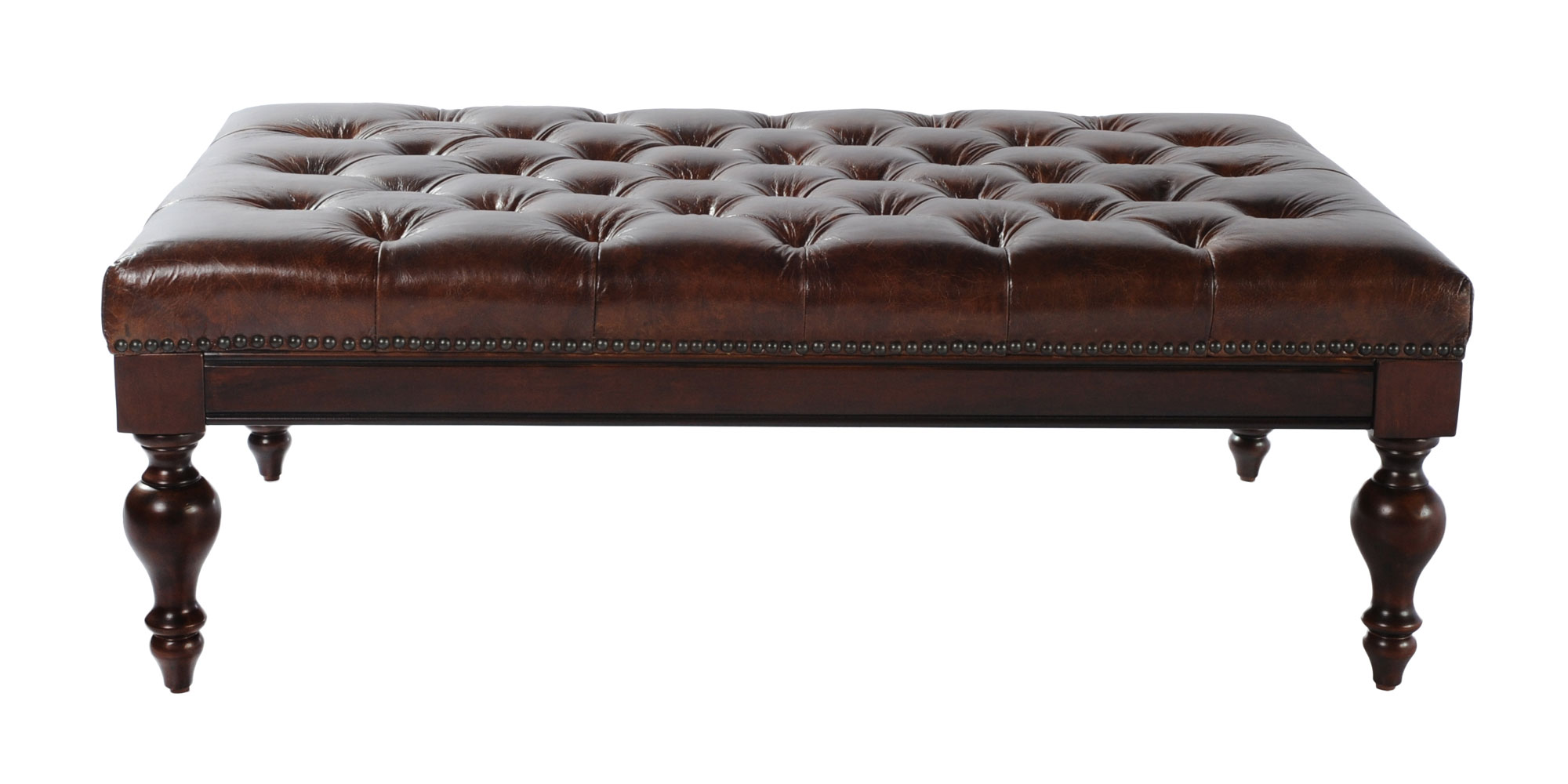 Carroll quotReady To Shipquot Leather Bench Ottoman Ottomans  : carroll ready to ship leather bench ottoman 9 from www.clubfurniture.com size 2000 x 1000 jpeg 152kB
