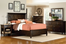 Hunter Casual Wood Bedroom Furniture Collection