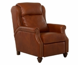 Chad 3-Way Electric Power Leather Recliner With Comfort Control Plus