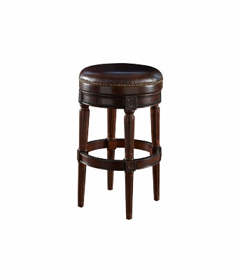 Backless Leather Swivel Counter Stool Club Furniture