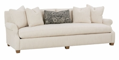 "Charlotte ""Designer Style"" Select-A-Size Grand Scale Single Bench Seat Sofa"