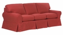 Chloe Slipcover Queen Sleeper Sofa Bed