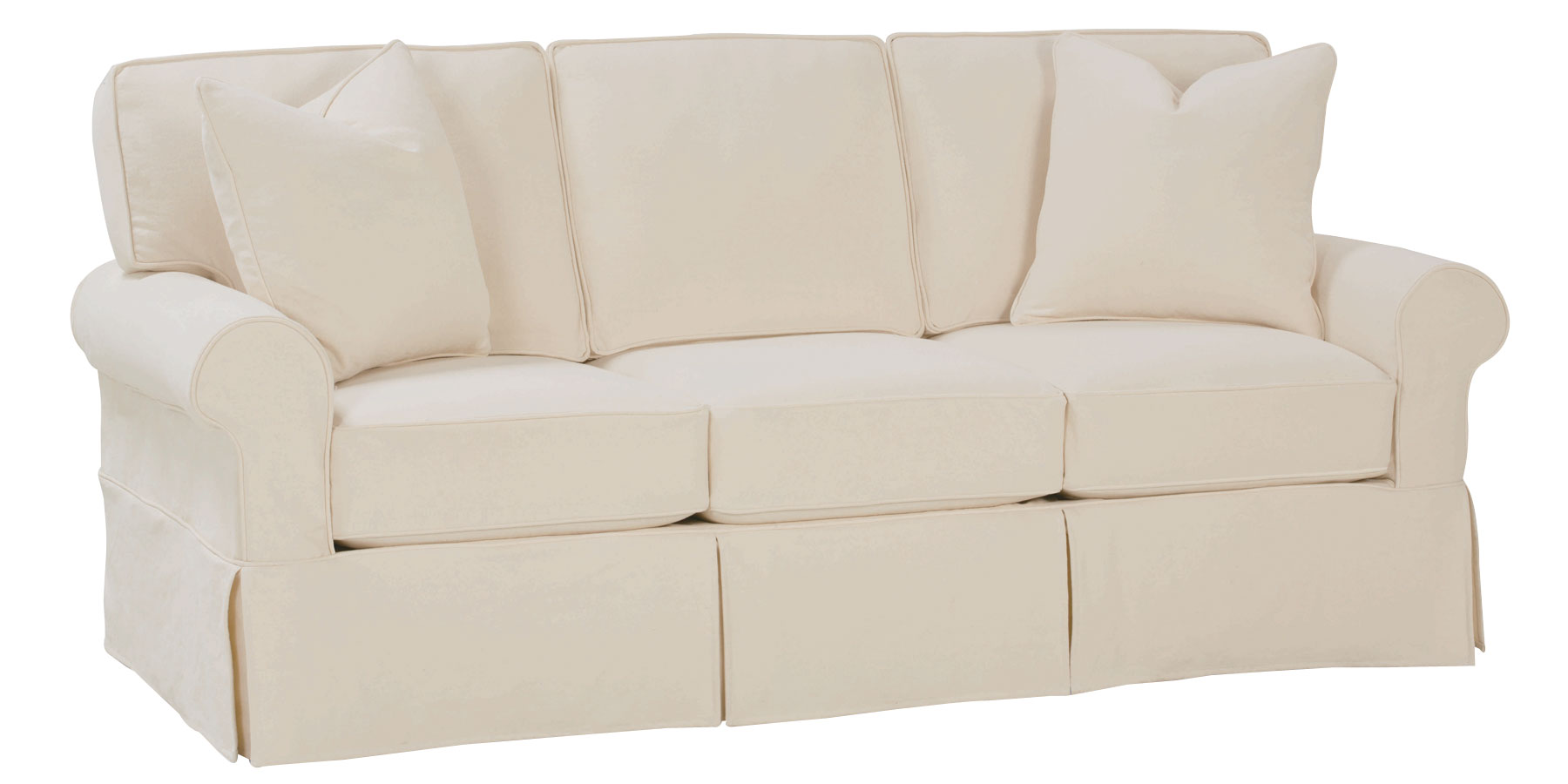 Christine Quot Quick Ship Quot Slipcovered Sofa Collection