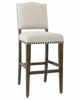 "Clifton Rustic ""Ready To Ship"" Fabric Bar & Counter Height Stool Collection"