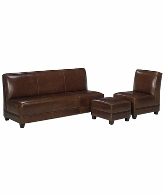 cole leather ottoman cole leather chair and ottoman cole