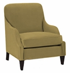 Colette Fabric Accent Chair w/ Inset Arms