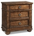 Colton 3 Drawer Nightstand