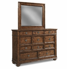 Colton 11 Drawer Dresser With Mirror