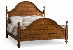 Colton Poster Bed (King Bed Pictured)