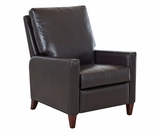 Conan Modern Track Arm Leather Recliner