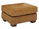 Dempsey Leather Ottoman