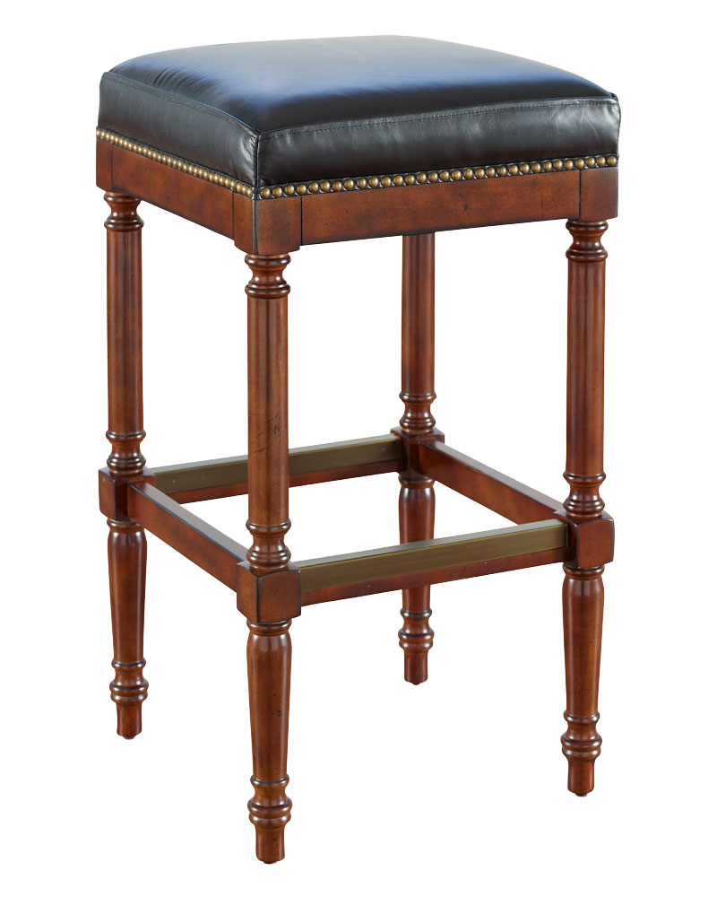 Devenshire Quot Ready To Ship Quot Leather Bar Amp Counter Stool