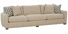 "Diana ""Designer Style"" Select-A-Size Large Fabric Sofa"