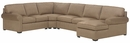 Dillon 4-Piece Fabric Upholstered Sectional Sofa w/ Chaise Lounge (As Configured)