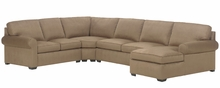 Dillon Fabric Upholstered Transitional Sectional Sofa
