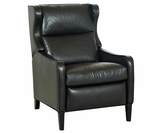 Jones Tall Leather Recliner Club Chair
