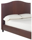 "Donovan California King Fabric Or ""Designer Style"" Leather Headboard w/ Metal Bed Frame"