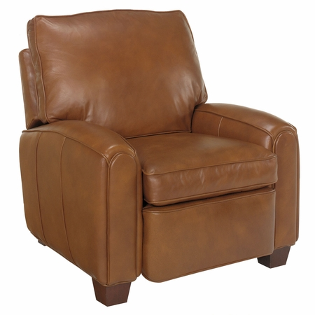 Lyndon Pillow Back Leather Recliner