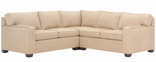 Elliott Contemporary Modular Track Arm Sectional Sofa