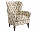 Fabric Upholstered Swivel Tub Accent Chair