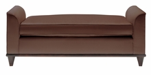 Braxton Leather Upholstered Bench