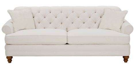 Evelyn Tufted Back Fabric Sofa Collection
