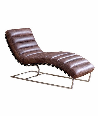 Modern Leather Chaise Lounge Modern Brown Leather Chaise Pictures to ...