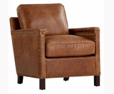 "Hale ""Quick Ship"" Leather Accent Chair"